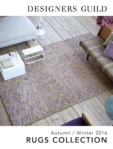 DESIGNERS GUILD RUGS AUTMN/WINTER 2016