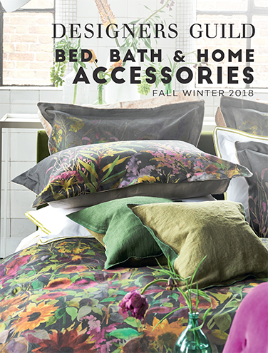 DESIGNERS GUILD HOME ACCESSORIES FALL/WINTER 2018