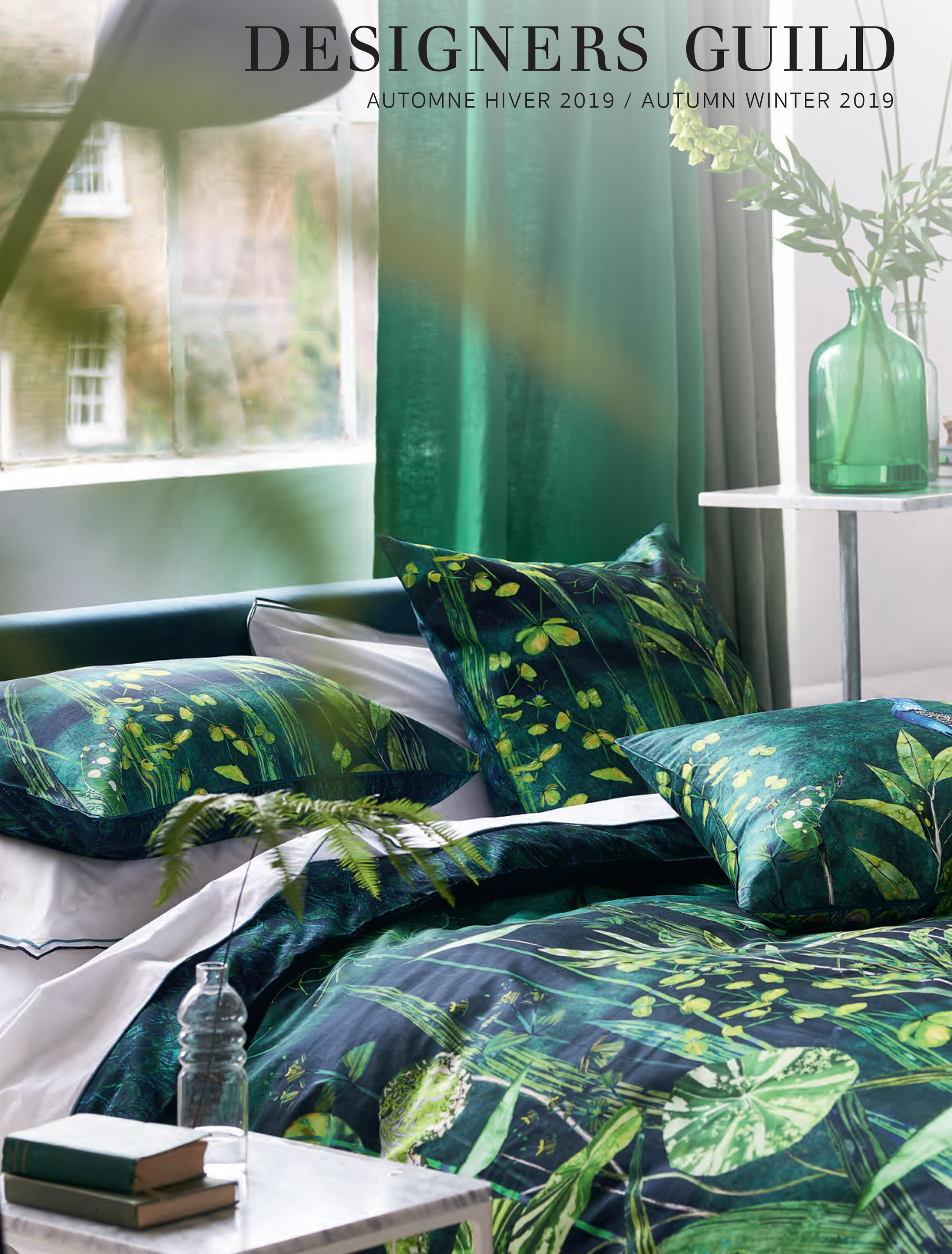 DESIGNERS GUILD BED LINEN AUTUMN/WINTER 2019
