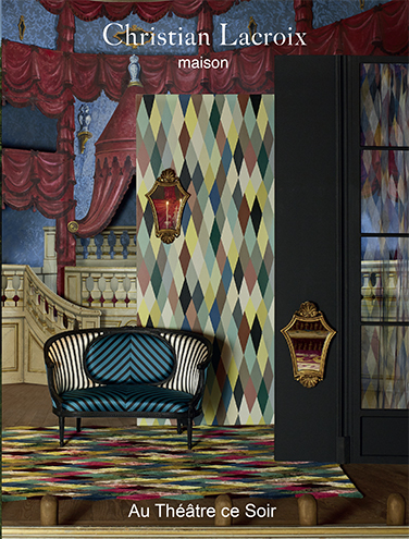 CHRISIAN LACROIX FABRICAND WALLPAPER SPRING/SUMMER 2017