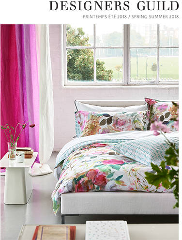 DESIGNERS GUILD ITC BED LINEN SPRING SUMMER 2018