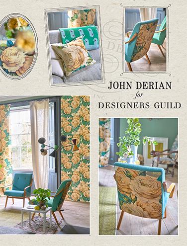 JOHN DERIAN FABRIC AND WALLPAPER AUTUMN/WINTER 2017