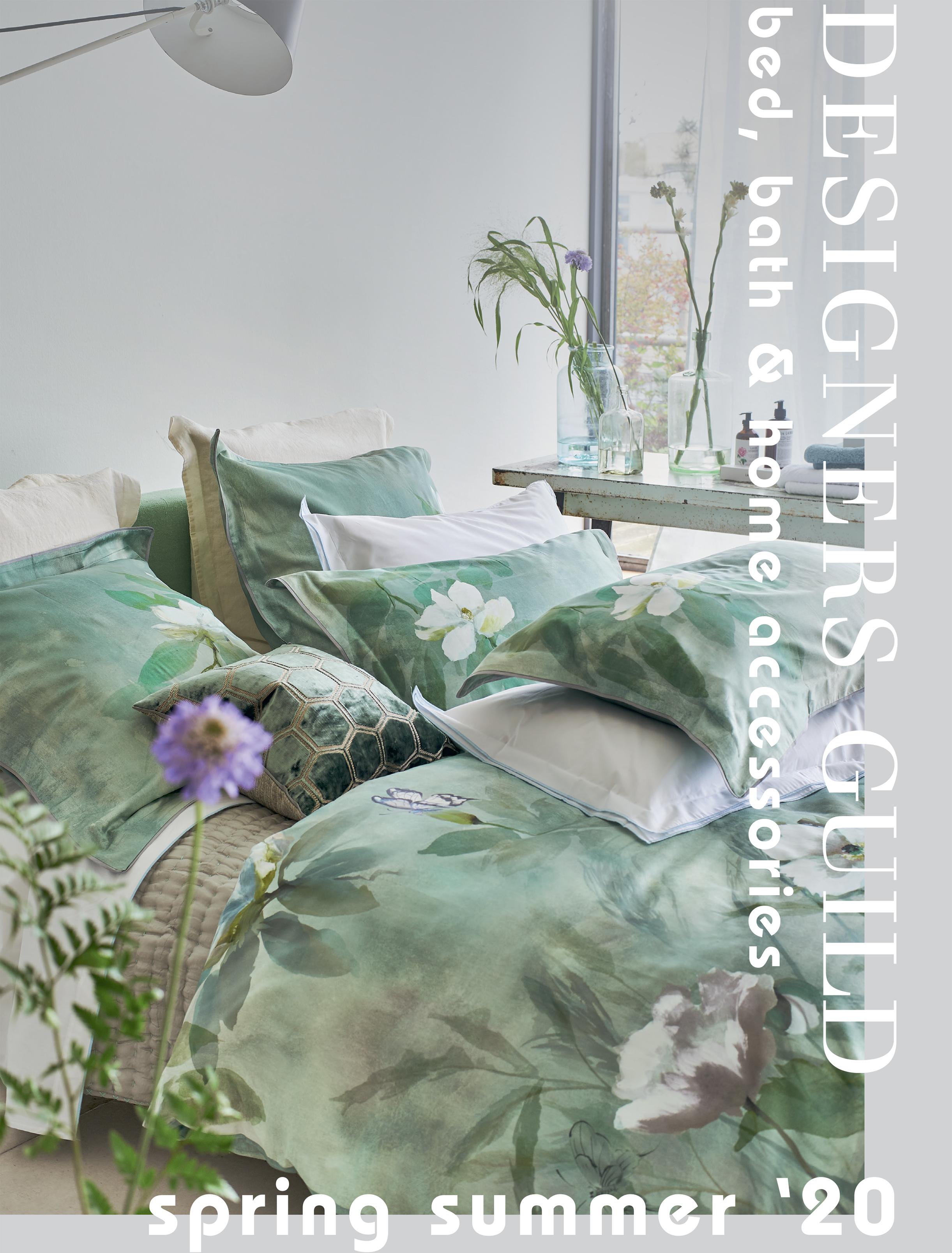 DESIGNERS GUILD BED, BATH & HOME ACCESSORIES SPRING/SUMMER 2020