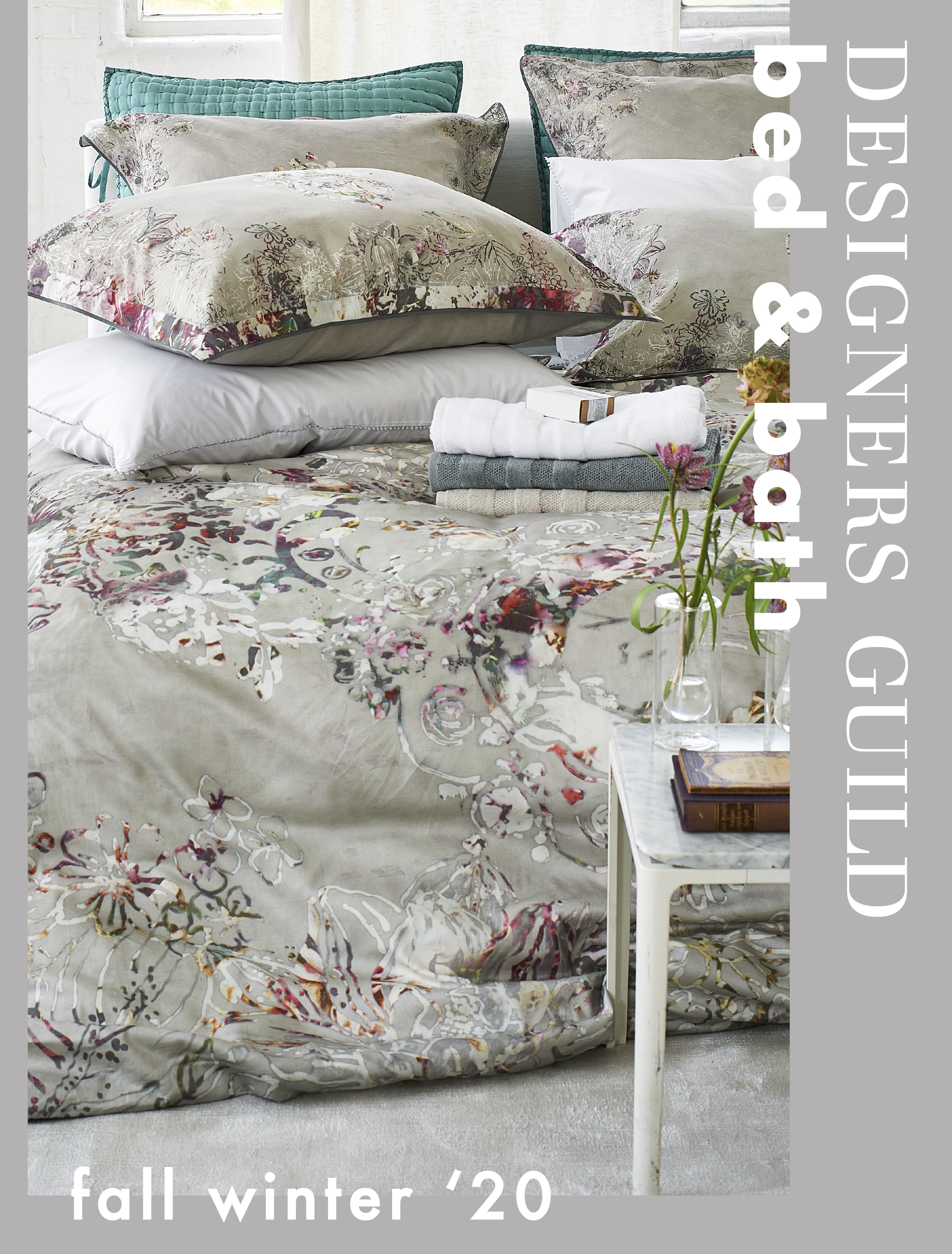 DESIGNERS GUILD BED & BATH AUTUMN/WINTER 2020